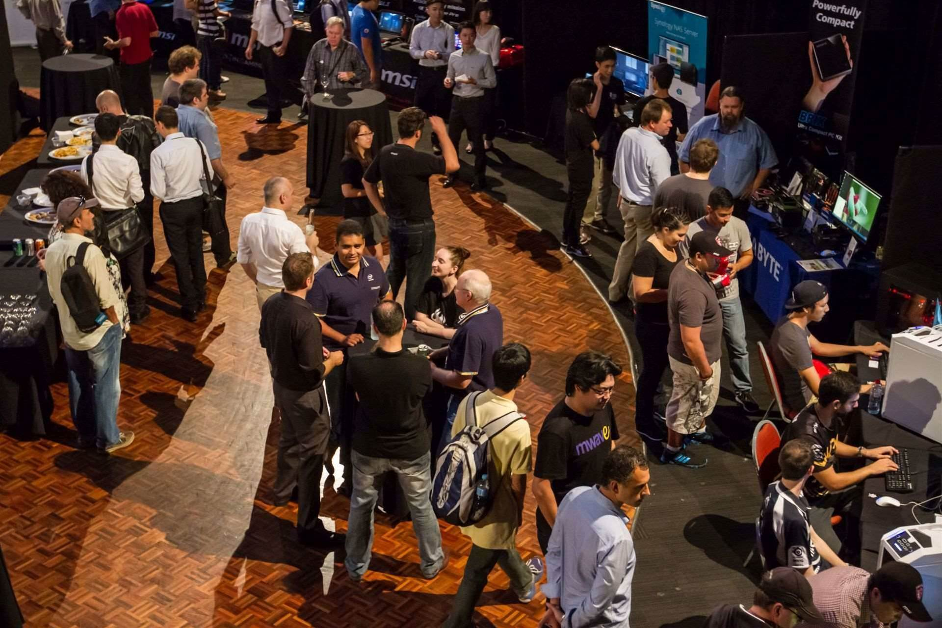 The inaugural Upgrade Australia event went off with a bang!