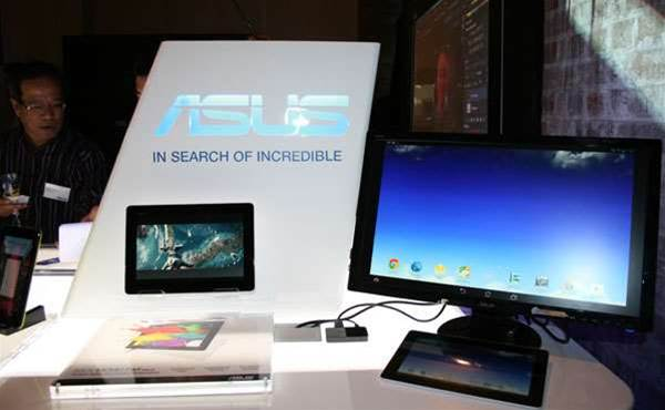 Asus looking for enterprise business with new hybrids