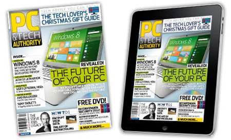 New magazine and iPad issue out now! The Future of Your PC, USB 3 hard disk showdown, Xmas Gift Guide 2011