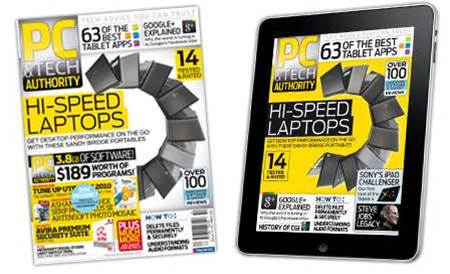 New magazine and iPad issue! Hi-speed laptop battle, plus the 63 greatest tablet apps