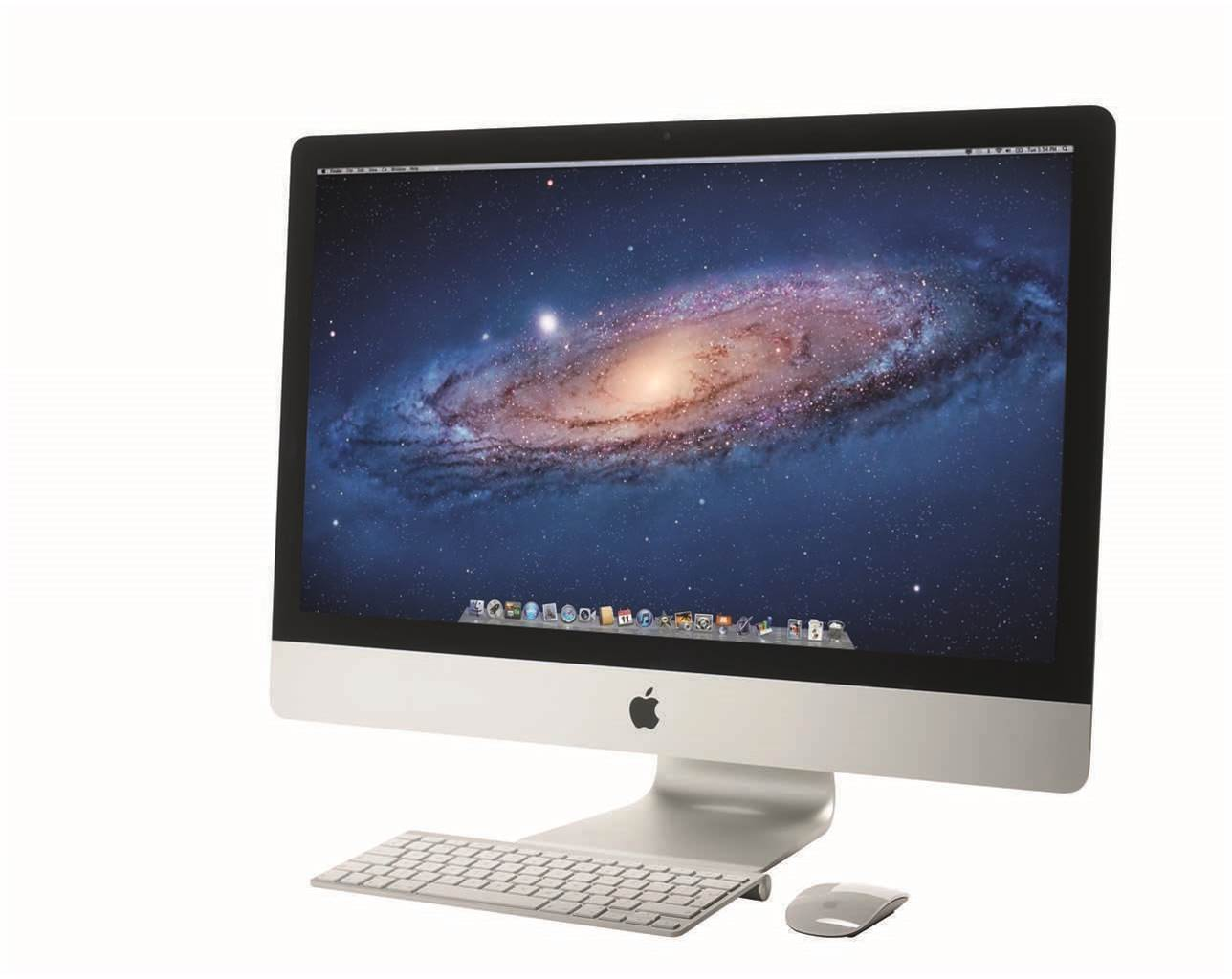 First look: new Apple iMac 27in