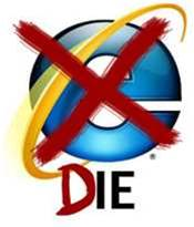 Internet Explorer 6 biggest block to Windows 7