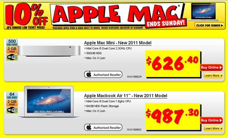 Yet another 10% Apple MacBook discount