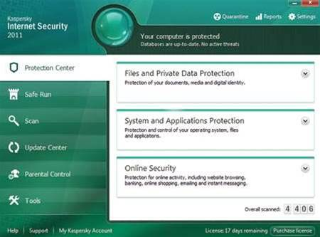 Review: Kaspersky Internet Security 2011