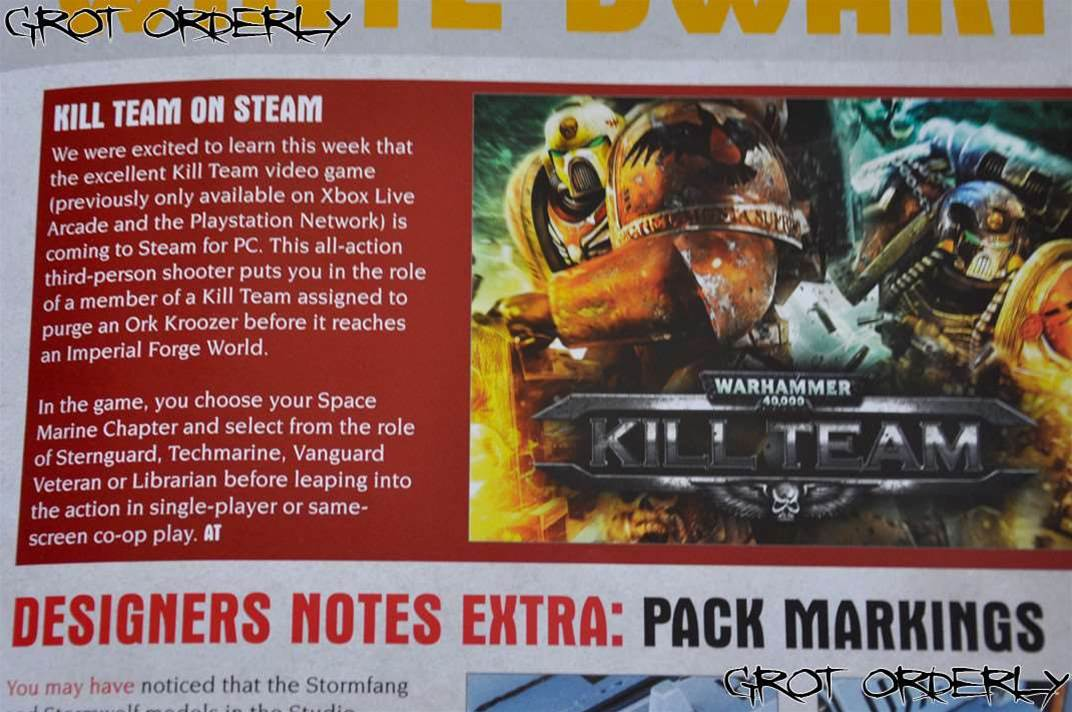 Warhammer 40,000: Kill Team coming to PC