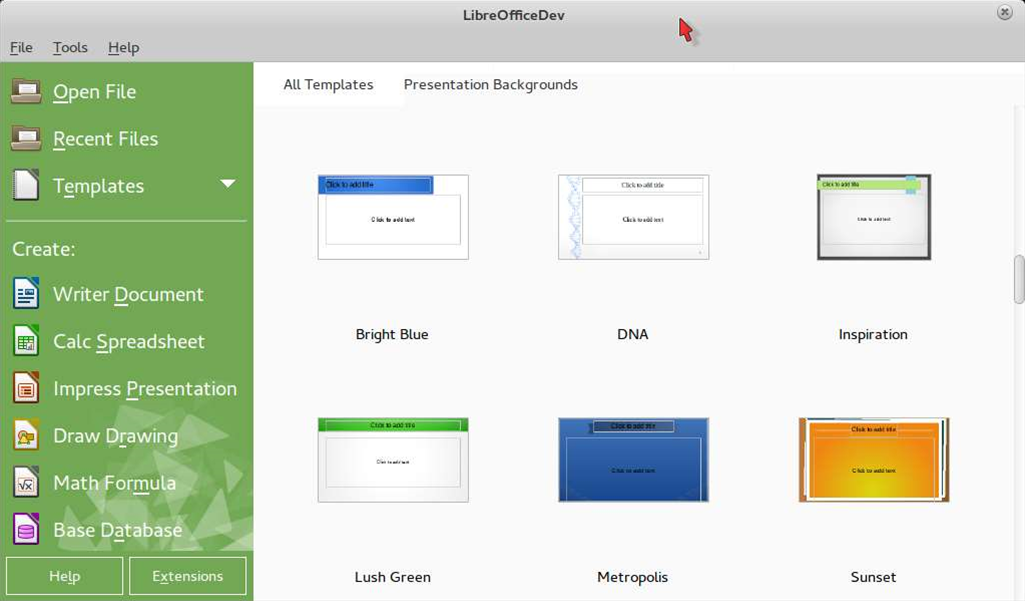 """Is LibreOffice 4.4 FINAL the """"most beautiful"""" ever?"""