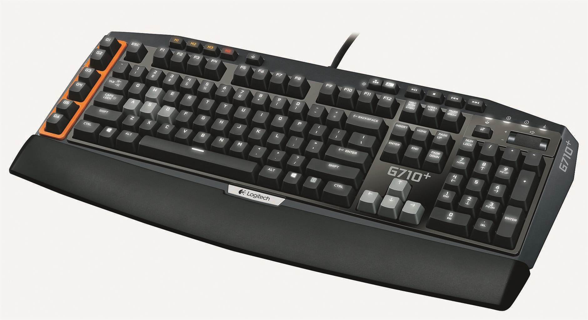 Review: Logitech G710+ Mechanical keyboard