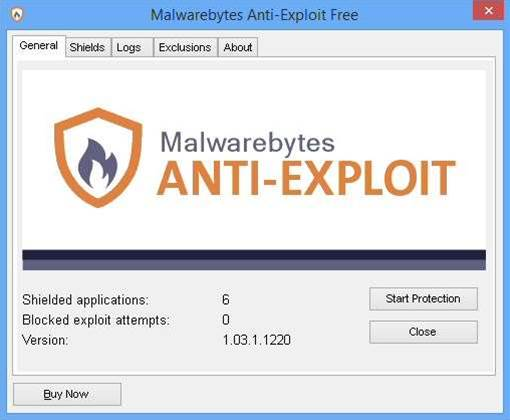 Malwarebytes Anti-Exploit 1.0 released in Free