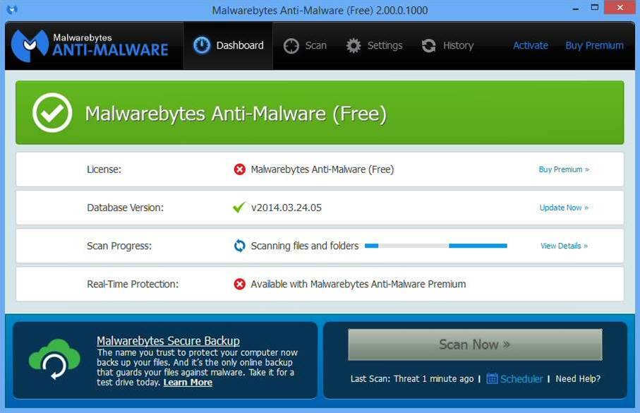 Malwarebytes Anti-Malware 2.0: new look, new engine