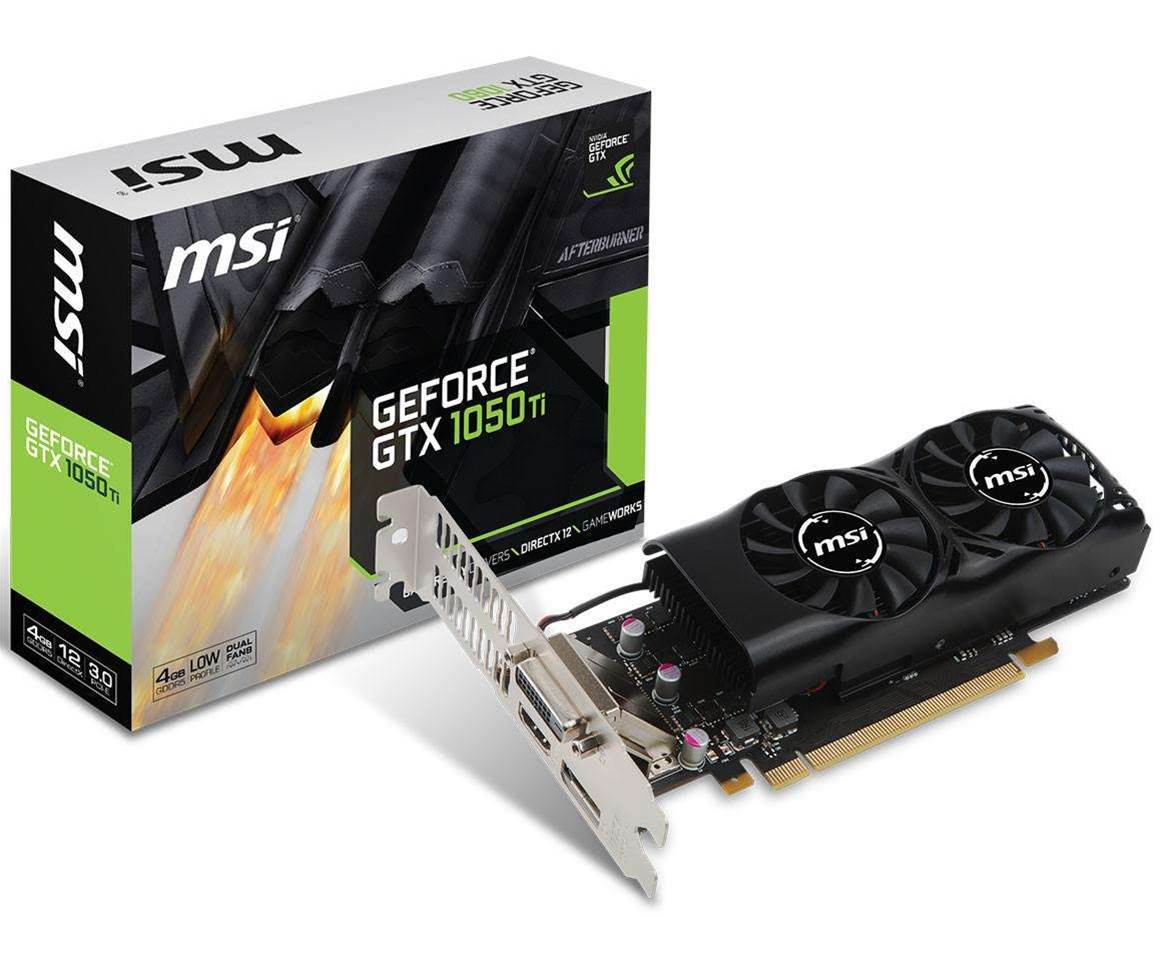 MSI delivers a perfect SFF video card - the GTX 1050 Ti 4GT LP