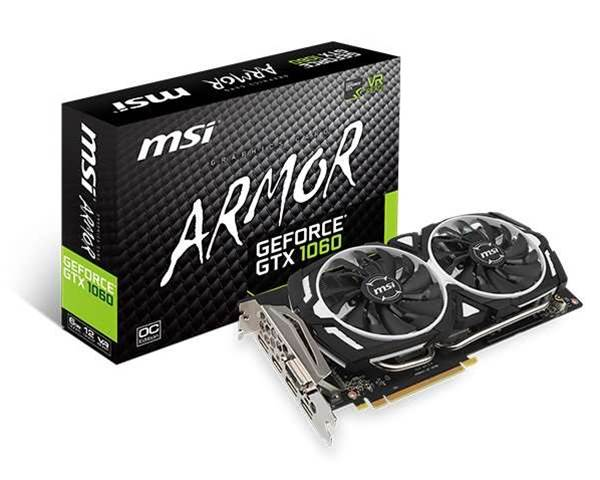 MSI lifts the lid on its GTX 1060 range, though only one card gets a Australian RRP