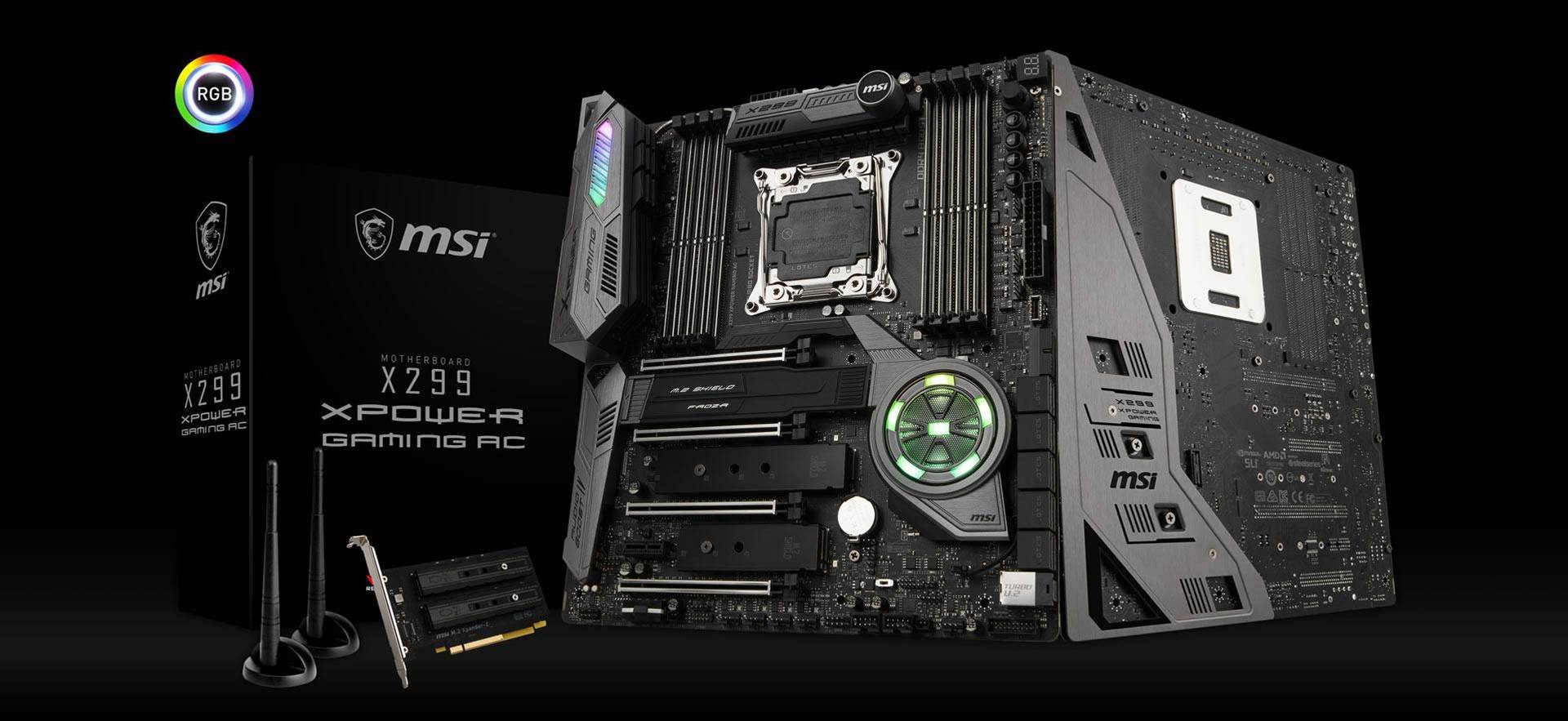 MSI reveals 14-phase X299 XPOWER GAMING AC motherboard