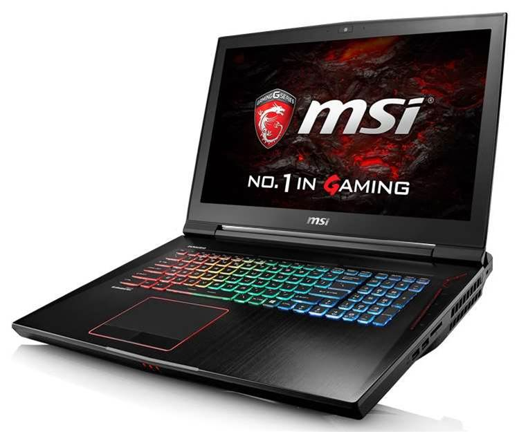 MSI reveals new Pascal-powered laptops, and they're pretty serious