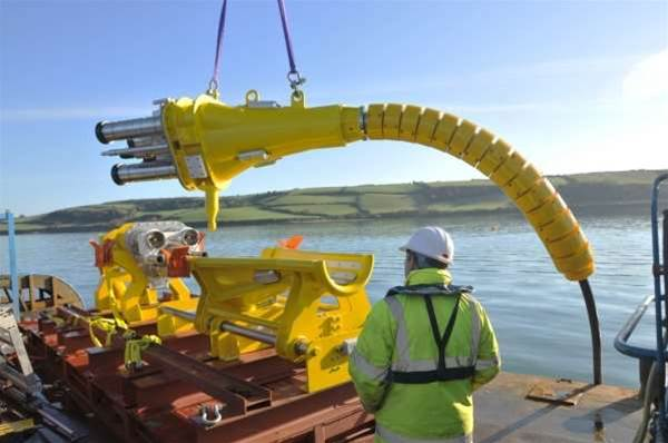 Massive 7.6MW Plug Connects Offshore Wind Generator