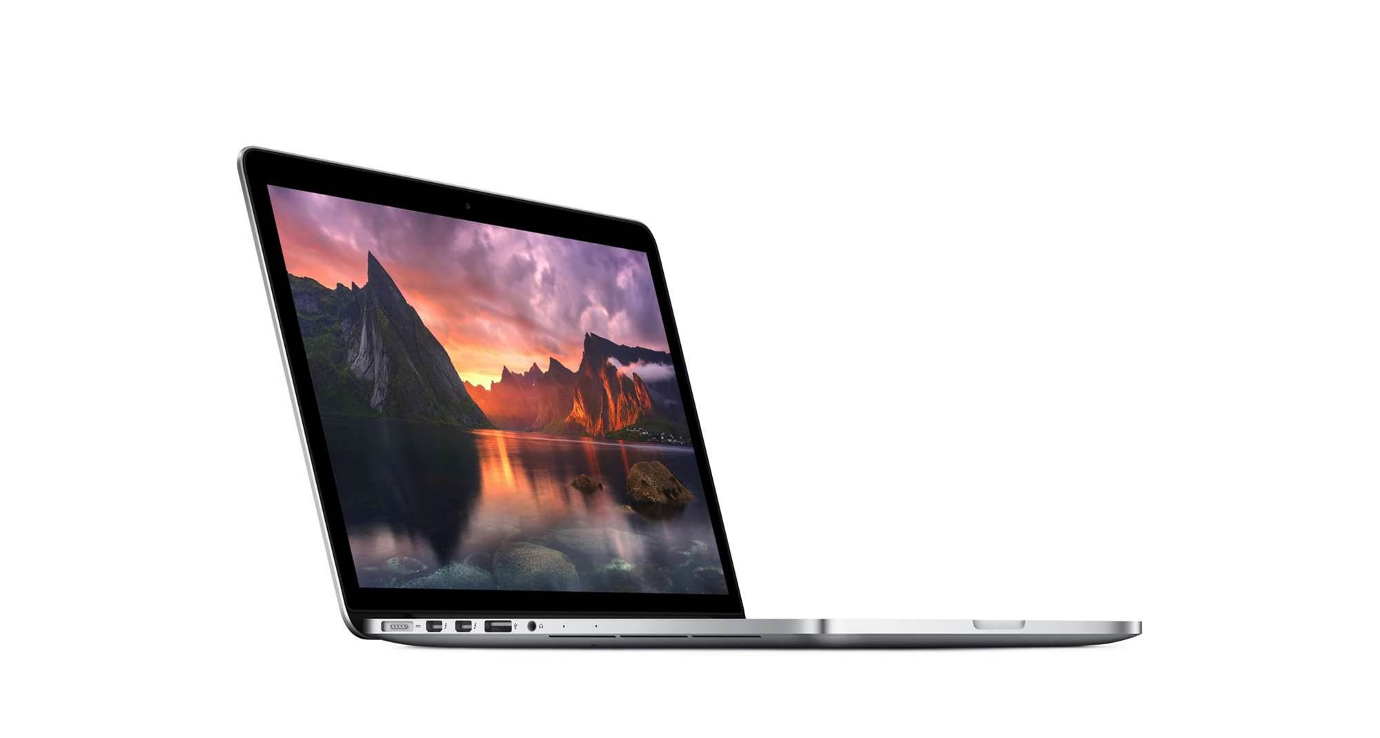 Apple updates retina MacBook Pro range