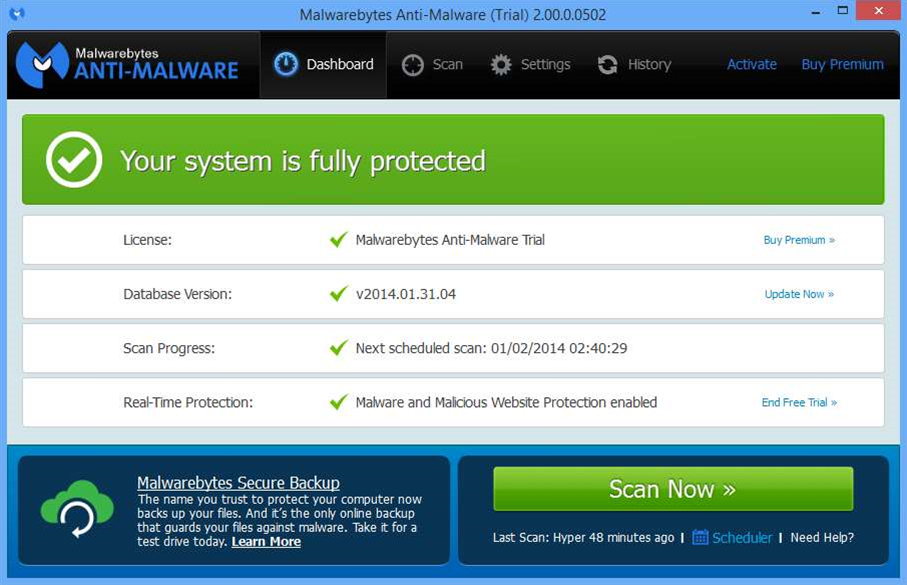 Malwarebytes Anti-Malware 2.00 public beta released