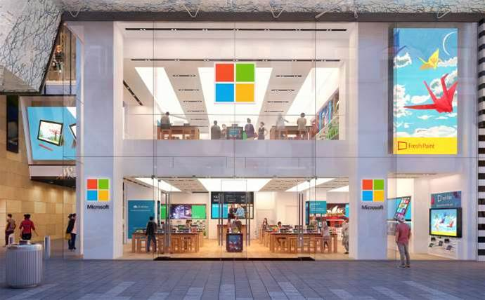 Microsoft reveals opening date for Sydney flagship store