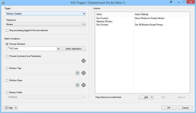 DisplayFusion 8.0 improves Anniversary Update compatibility, unveils new Triggers function