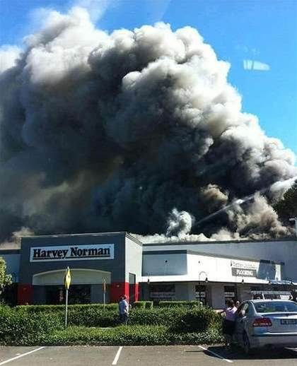 Penrith fire hits Harvey Norman's hip pocket