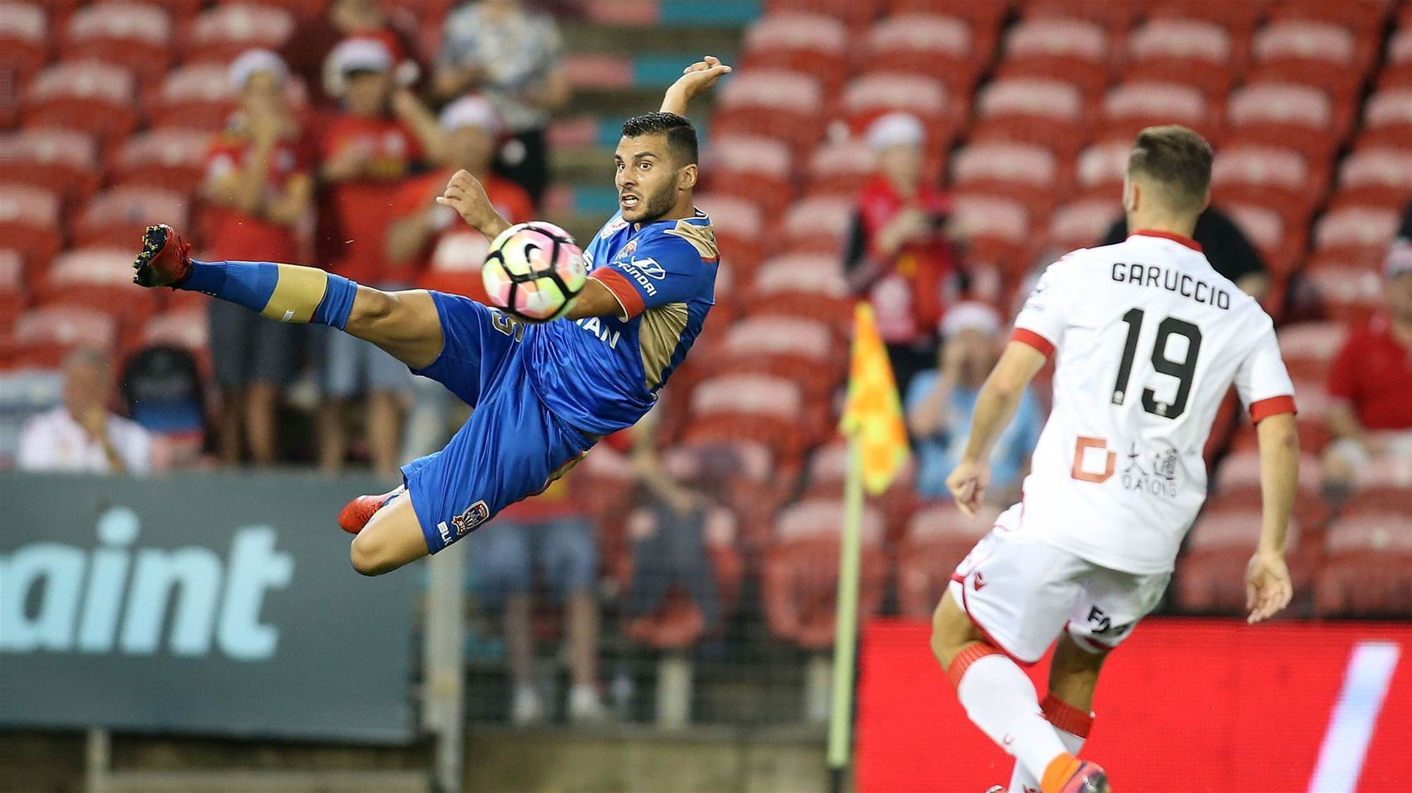 Nabbout: Wide play key to whipping Wanderers