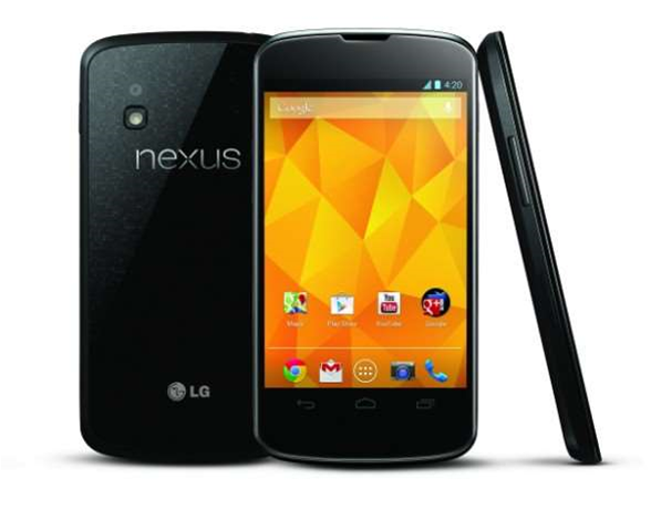Nexus 4 finally back on sale - for $100 more
