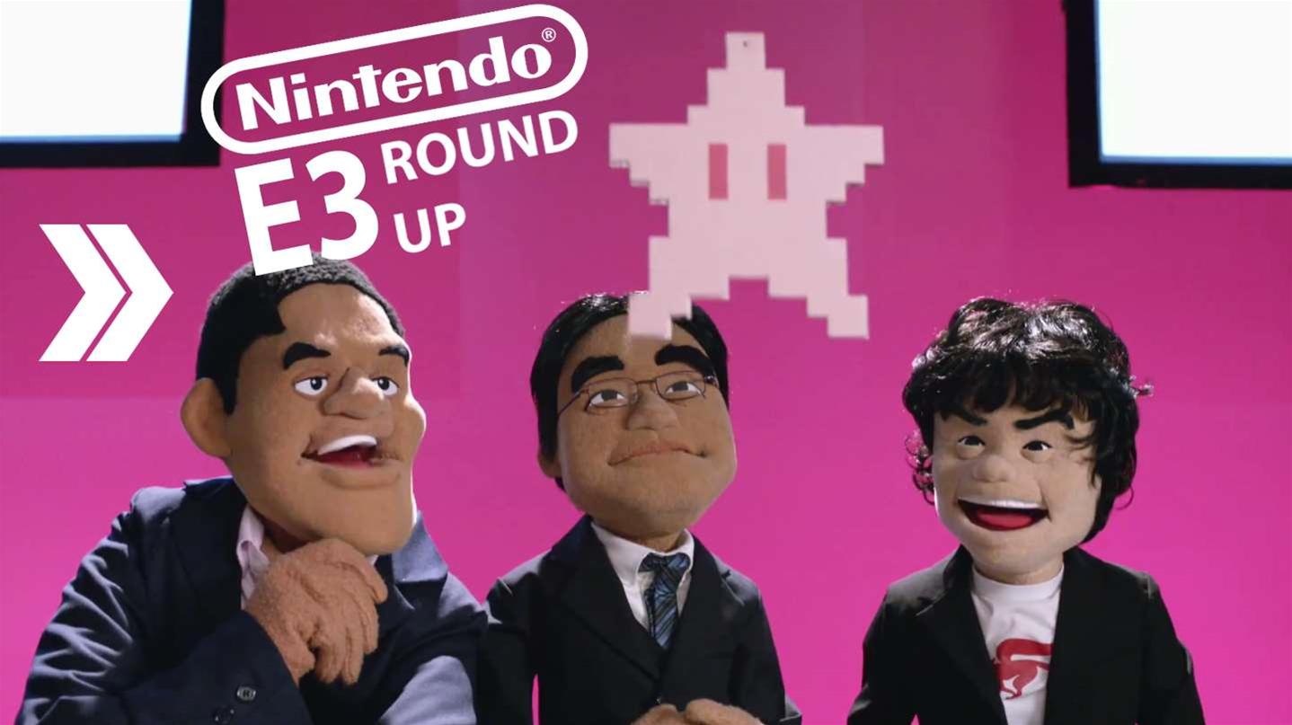 Nintendo E3 Trailer Roundup