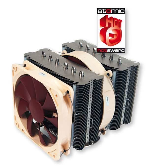 Noctua's NH-D14 CPU Cooler impresses