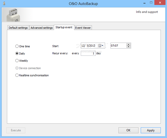 O&O AutoBackup 3 released; adds real-time file sync