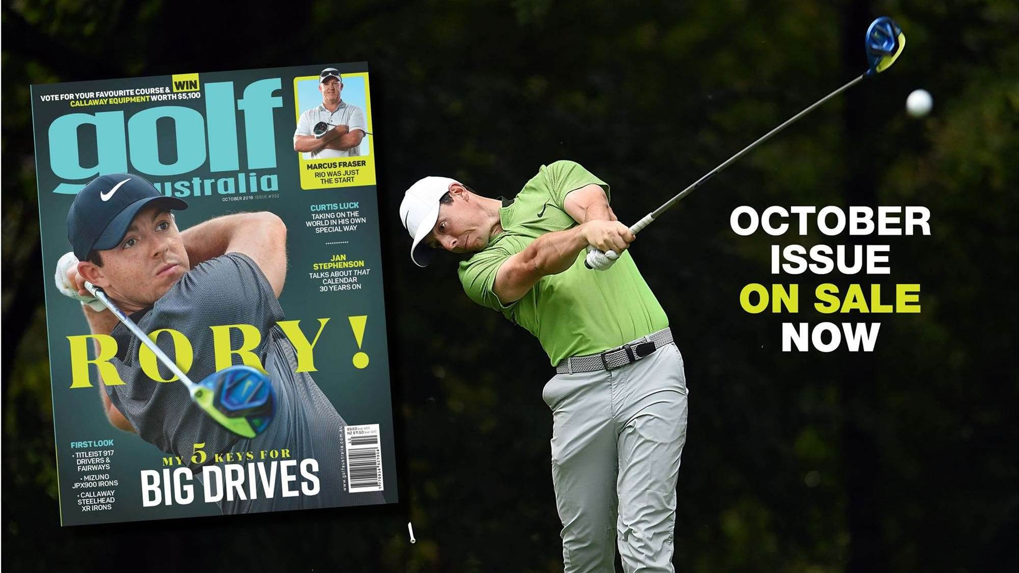 Inside: Golf Australia October 2016