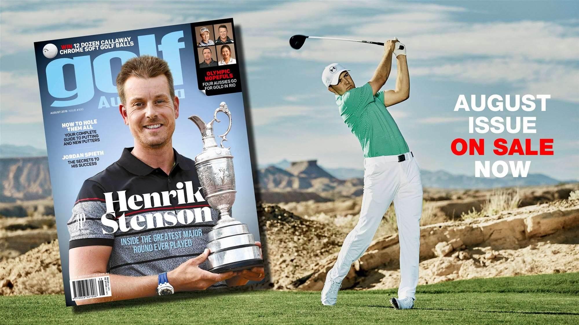 Inside: Golf Australia August 2016