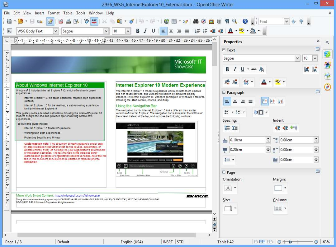 OpenOffice 4.0 adds Sidebar, enhanced drawing tools