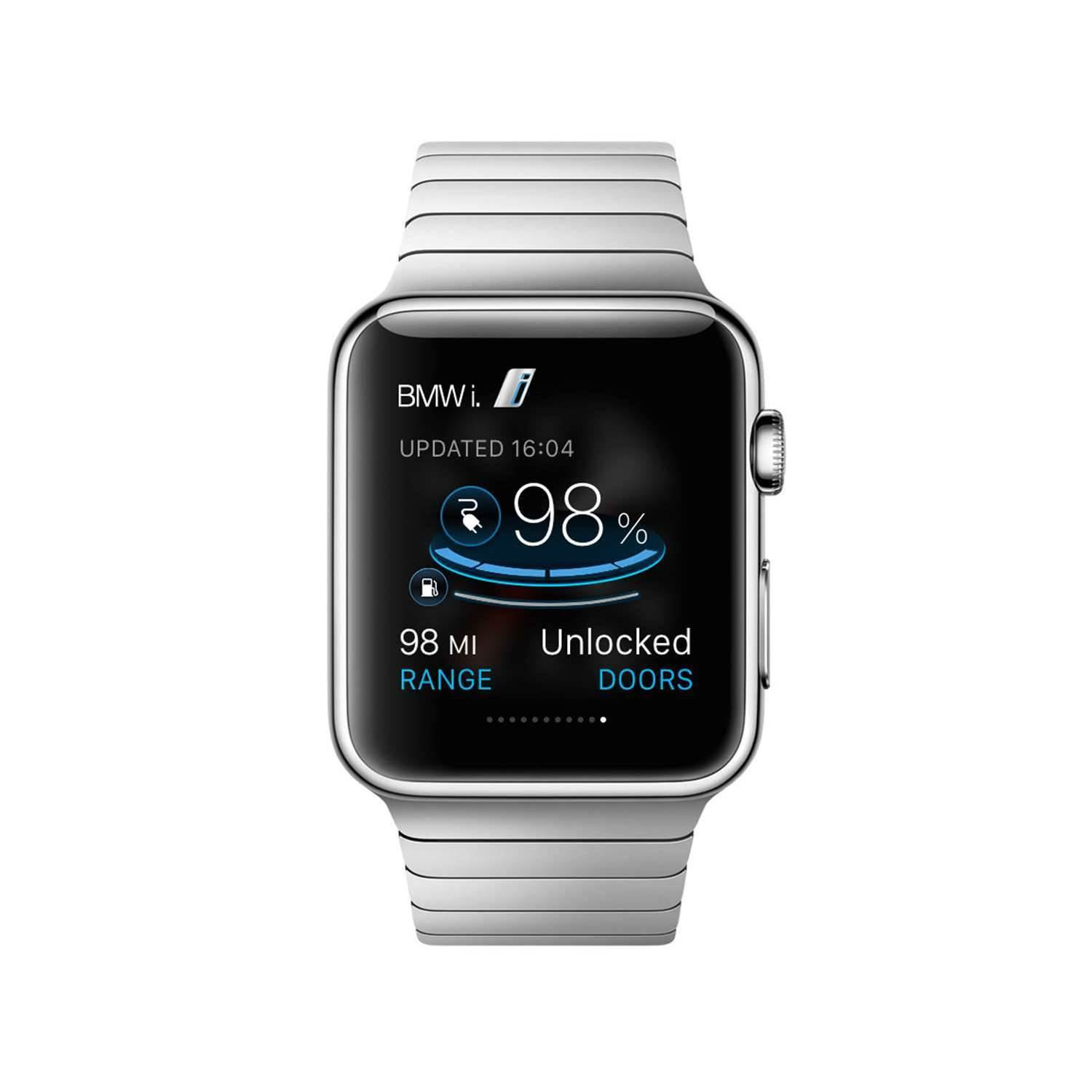 BMW's i-Cars Have an Apple Watch App
