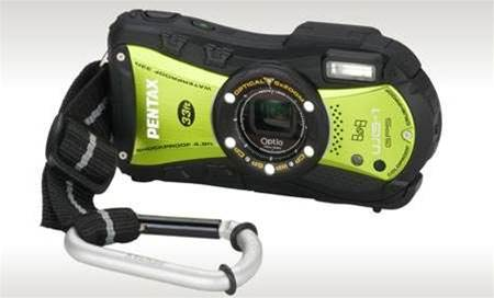 "Pentax unveils ""tough"" looking camera that looks the part"