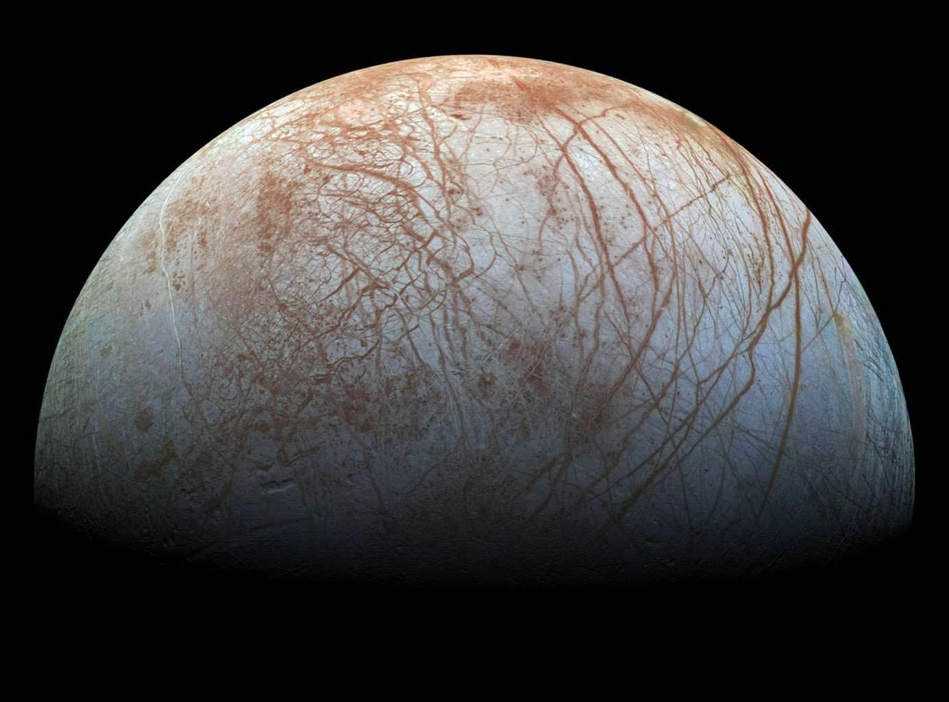 Europa Is Stunning In Close-To-True Color