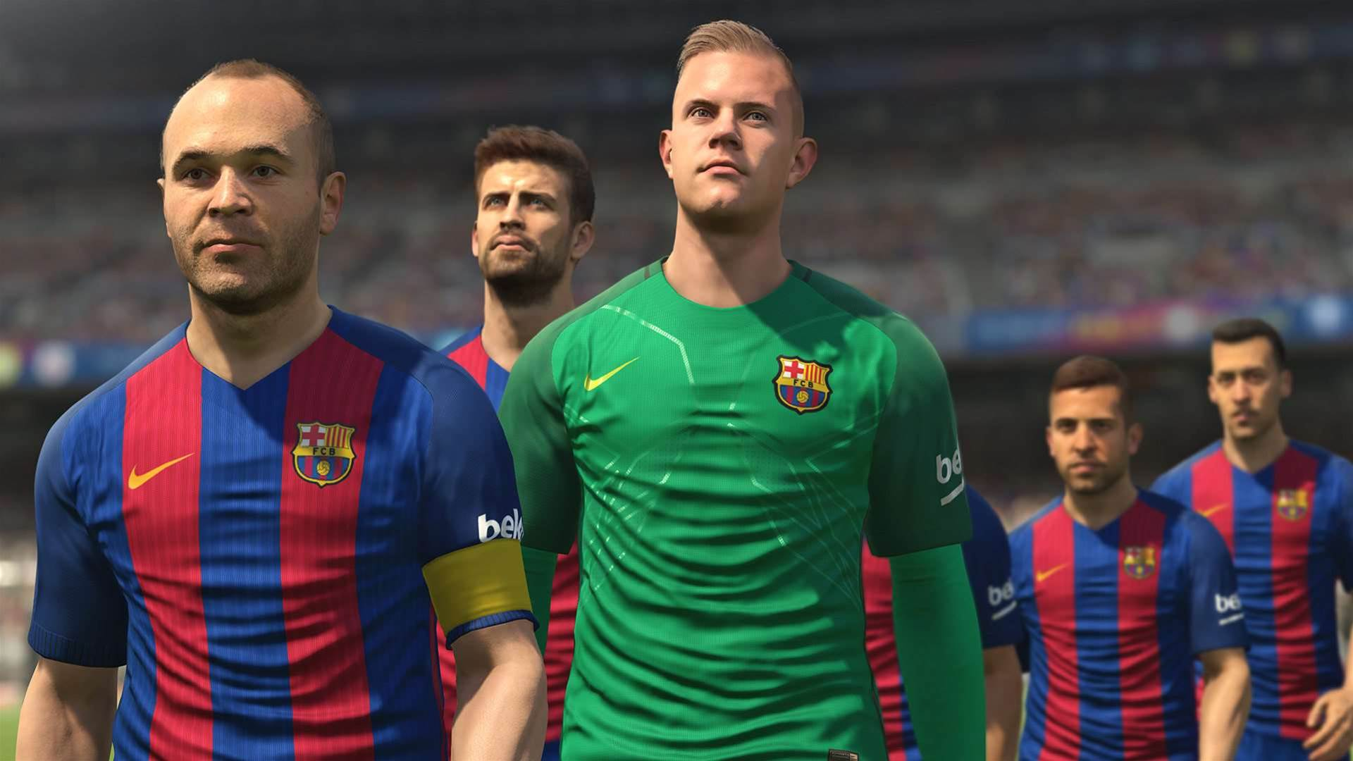 PES 2017 demo live now on the PlayStation Store