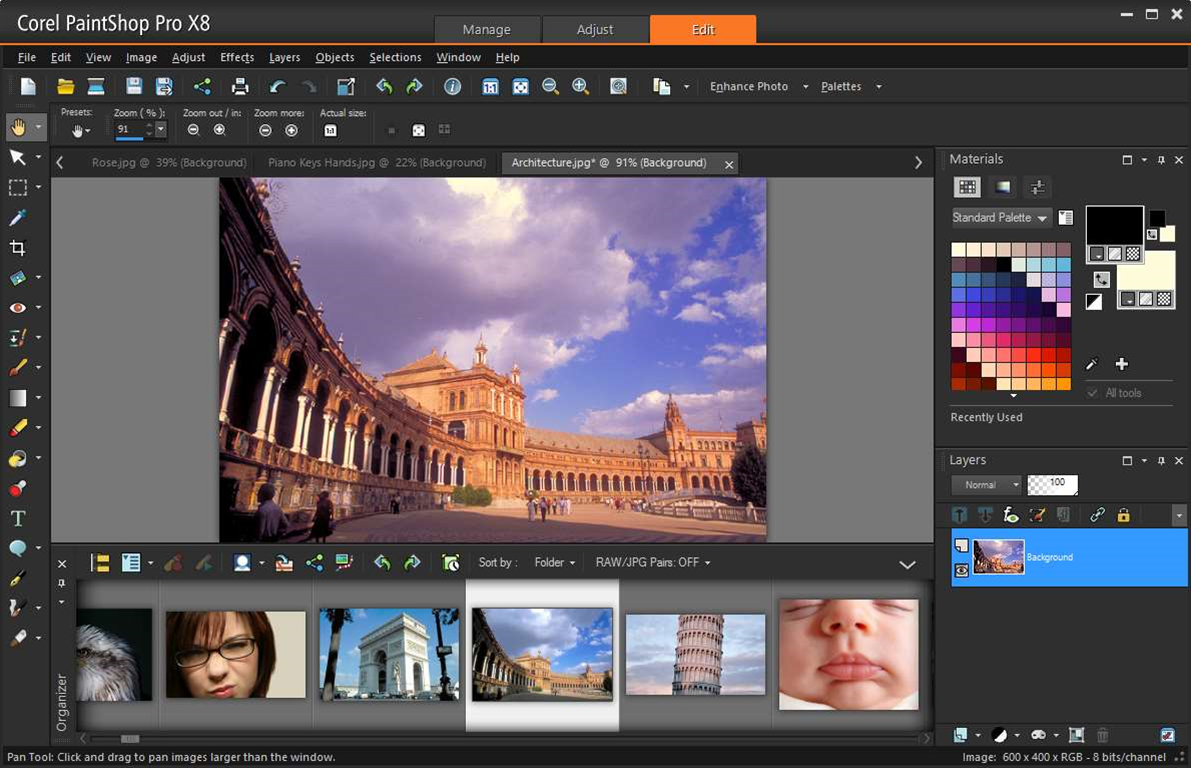 Corel PaintShop Pro X8 celebrates 25th birthday