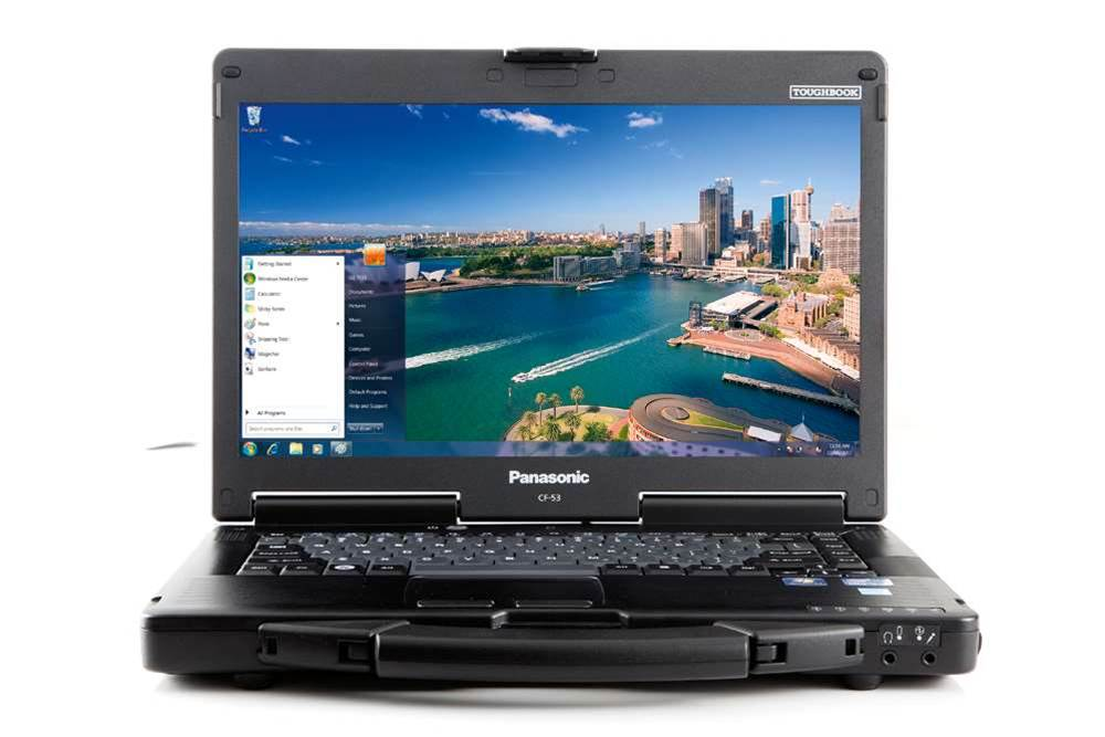 The Panasonic Toughbook: Not every laptop has to be wafer thin