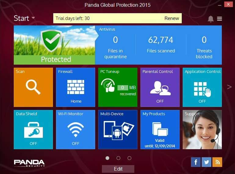 Panda 2015 consumer range now available