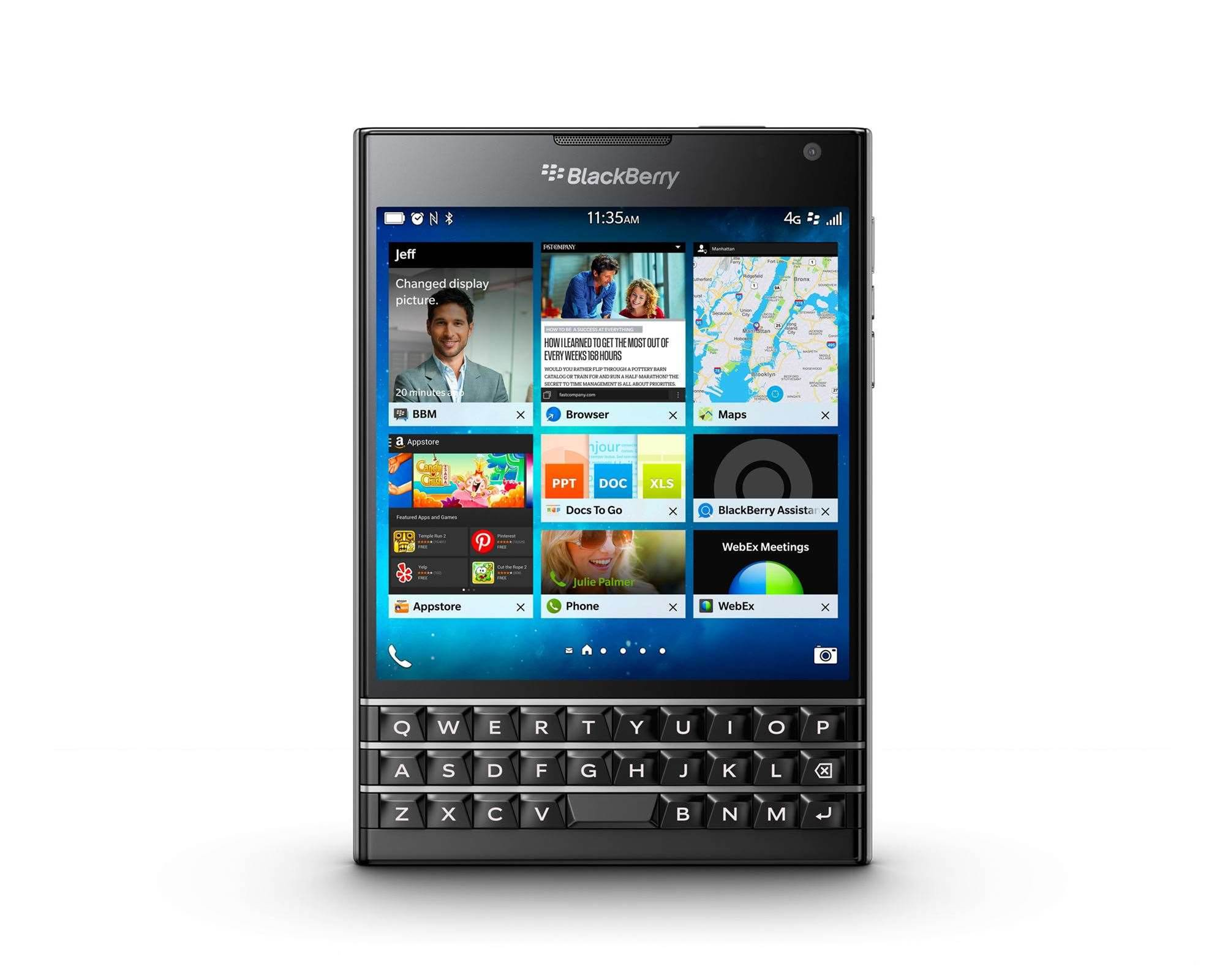 BlackBerry, Samsung combine Knox, BES12 in enterprise push
