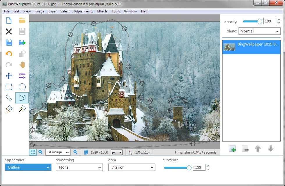 PhotoDemon 6.6 brings RAW support, more selection tools