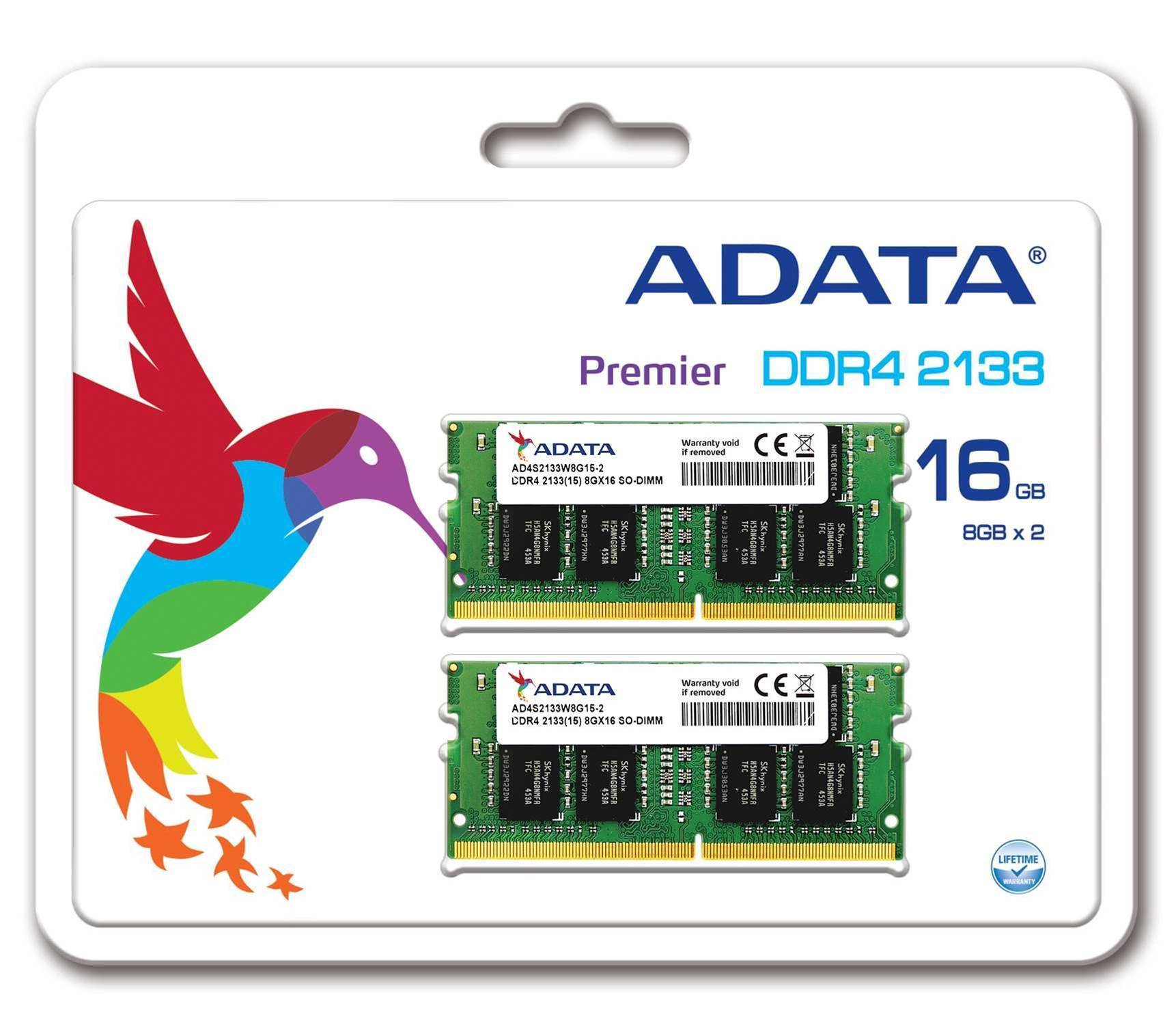 Adata launches DDR4 SO-DIMM kits