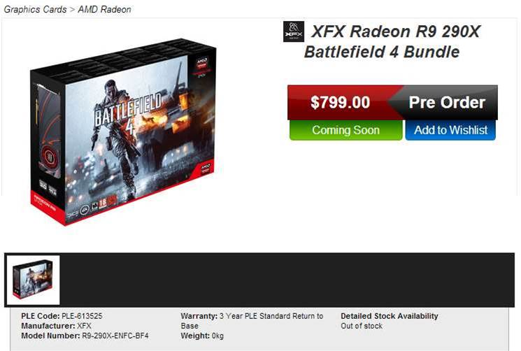 AMD Radeon R9 290X price pops up, but is it real?