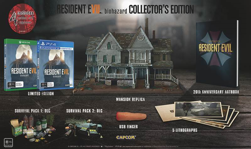 Resident Evil biohazard Collector's Edition revealed
