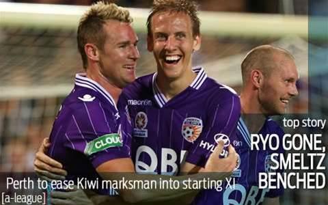 Perth Glory to bench brace hero Smeltz