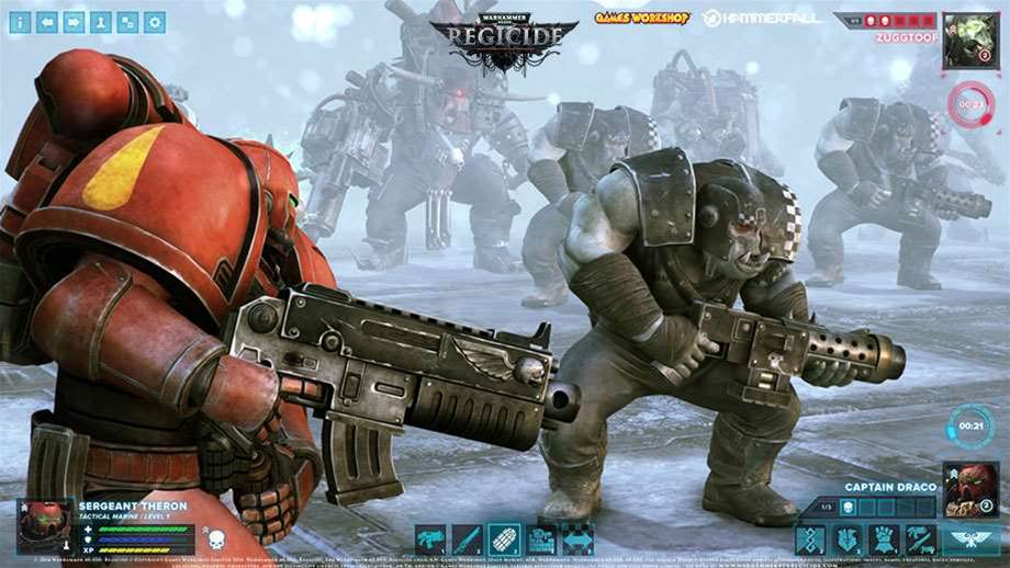 New Warhammer 40,000 strategy title Regicide to launch Early Access next month