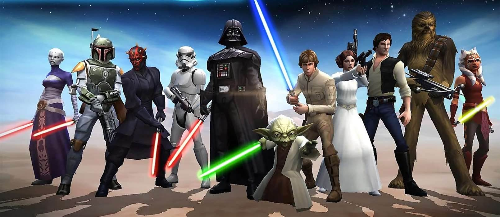 Star Wars Galaxy of Heroes released on mobile devices