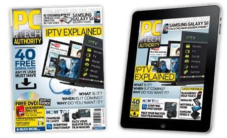 New magazine and iPad issue! How to get IPTV, plus top 40 killer downloads