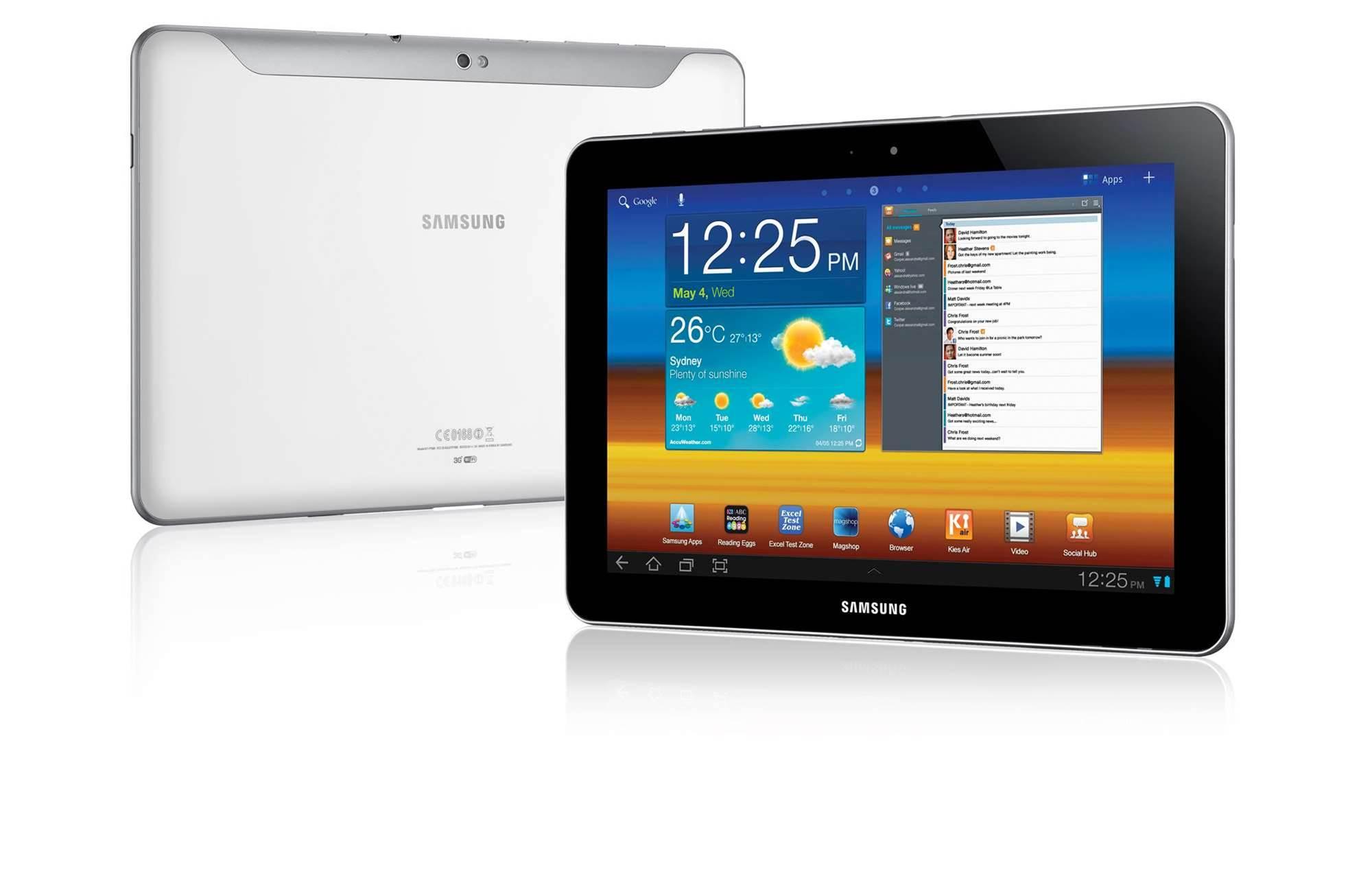 Vodafone, Optus to stock Samsung Galaxy Tab 10.1