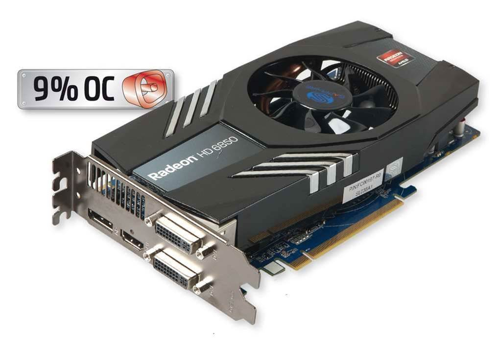 Sapphire's Radeon 6850 a solid choice