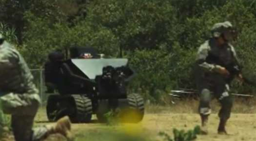 Video: A Two Tonne Minesweeping, Drone-Launching, Armoured Autonomous Mini-Tank